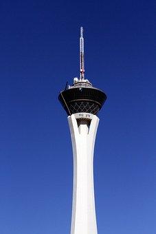 Las Vegas, Stratosphere, Hotel, Tower, Nevada, Casino