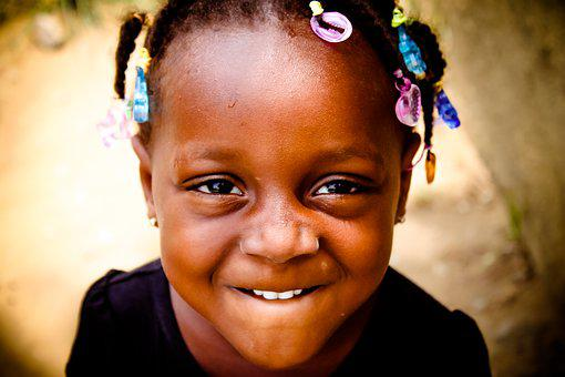 African Child, Black Child, Child, Face, African