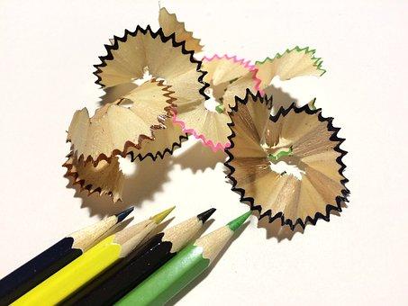 Pencils, Color, Colored Pencils, Multi Color, Green