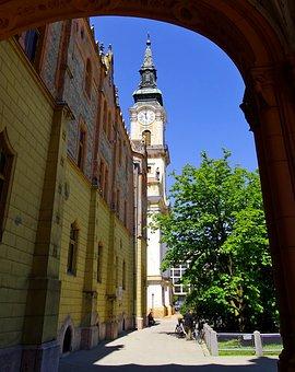 Hungary, Kecskemét, Downtown, Historically