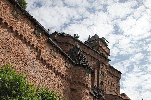 Haut-koenigsbourg, Castle, Alsace