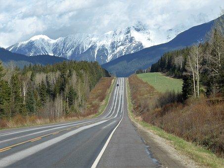 Transport, Highway, Landscape, Asphalt, Route, Pavement