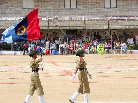 Ncc, School, School-ncc, School-army, Ncc-army