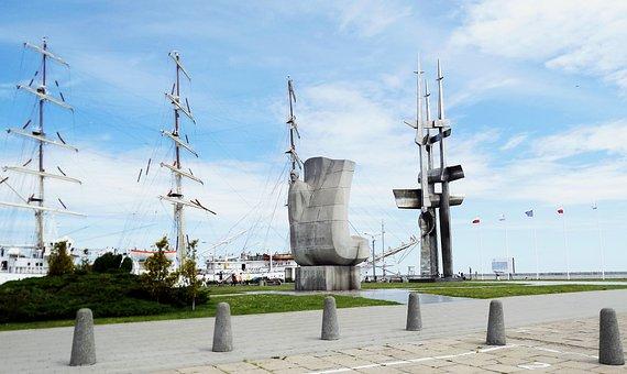 Kosciuszko Square, Gdynia, Poland, The Waterfront
