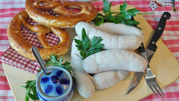 Weisswurst, Sausage, Cured Meats, Bavarian, Specialty