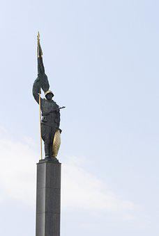 Vienna, Austria, Soviet, Soldier, Monument, Statue