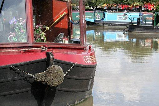 Boat, River, Barge, Stratford