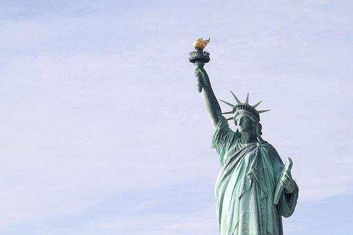 Statue Of Liberty, Statue, Freedom, Usa, Landmark