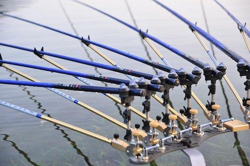Fishing Gear, Fishing Rod, Housing, Reservoir, Water