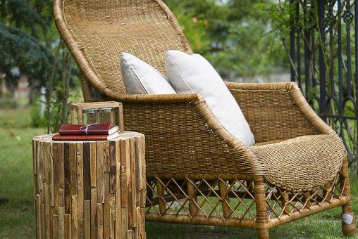 Wire Mesh, Chair, Furniture, Background, Decoration