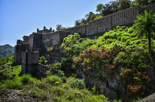Fort, Travel, Green, Old, Tourism, Architecture