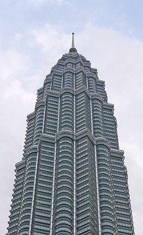 Petronas, Tower, Malaysia, Asia, Twin, Landmark, Lumpur