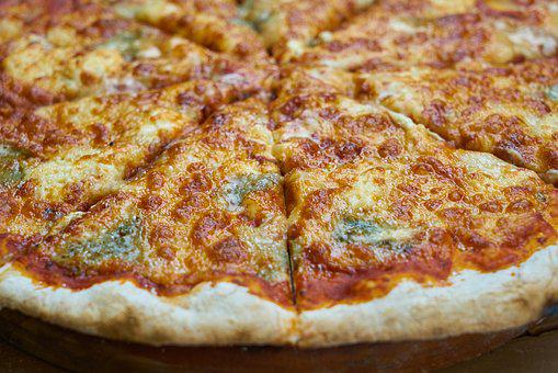 Pizza, Food, Dough, Macro, Cheese, Kitchen, Beautiful