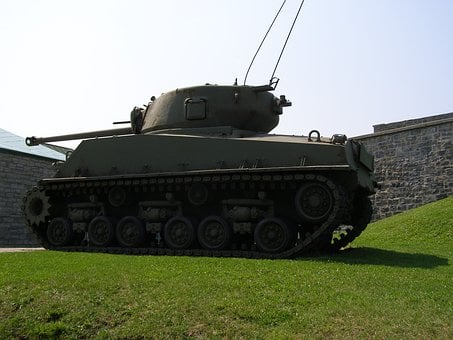 Tank, Canada, Quebec, City, Military, War, Weapon, Army
