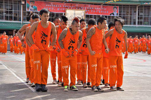 Filipino Prisoners, Dance, Dancing, Routine, Performing