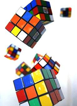 Game, Cube, Fun, Brain Teaser