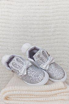 Gym Shoes, Shiny, Handsomely, Photo, Shoes, Tinsel