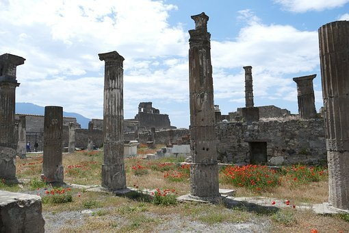 Pompeii, Italy, Naples, Antiquity, Places Of Interest