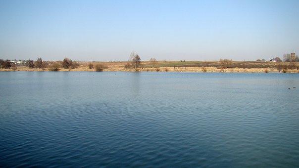 Lake, Lagoon, Pond, View, Water Surface, Water, Nature