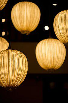 Lamp, Light, Composition, Background, Chandelier, Macro