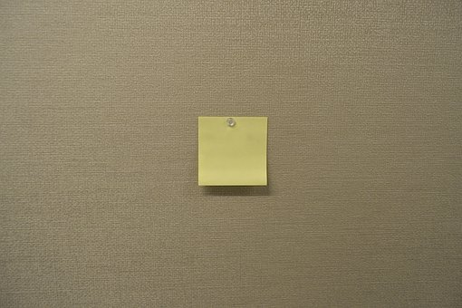 Post-it Note, Sticky Note, Post-it, Sticky, Note