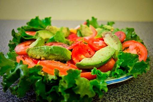 Salad, Avocado, Tomato, Bless You, Lettuce, Healthy