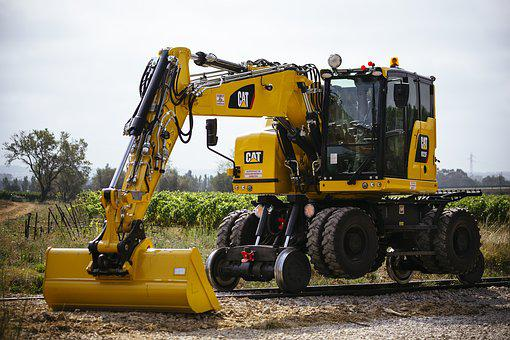 Two-way Excavator, M322, Short Tail, Rear, Short
