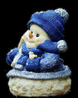 Christmas, Snow Man, Figure, Santa Hat, Fun, Funny