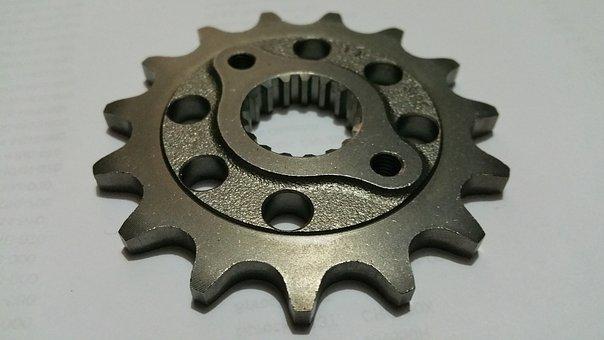 Sprocket, Gear, Splines, Metal