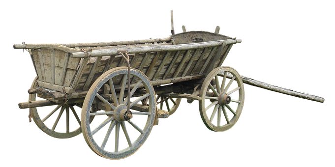 Cart, Wood, Middle Ages, Spokes, Hay Wagon