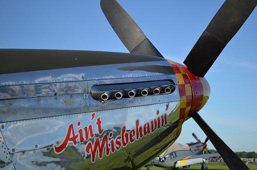 Tuskegee, Airshow, P-51, Mustang, P51, Aircraft