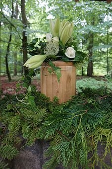 Urn, Funeral, Mourning, Forest Funeral, Tree Burial