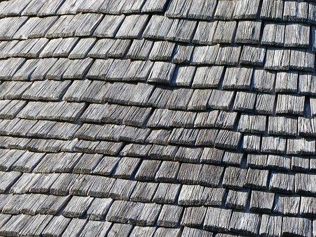 Shingles, Tile, Wood, Roof, Brouage, Houses