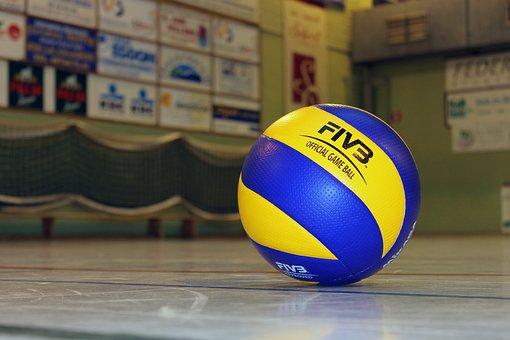 Volleyball, Ball, Sport, Volley, Mikasa, Ball Sports