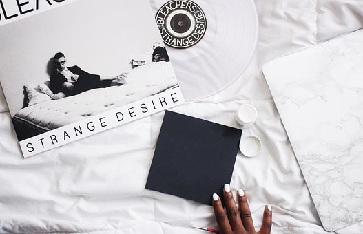 Bed, White, Flat Lay, Art, Design, Hand, Manicure