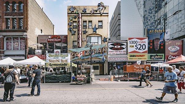 Architecture, Building, Design, Billboard, Store
