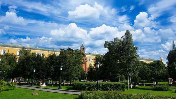 Blue, Sky, Nature, Blue Sky, Blue Sky Clouds