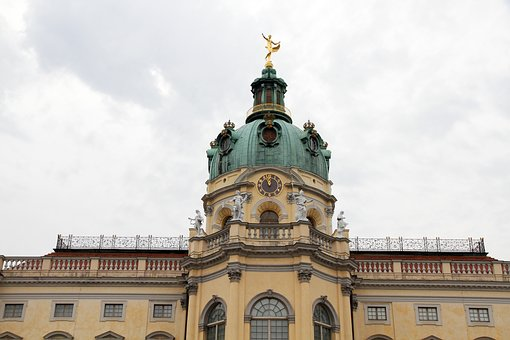 Charlottenburg, Berlin, Palace, Medium Shot, Germany