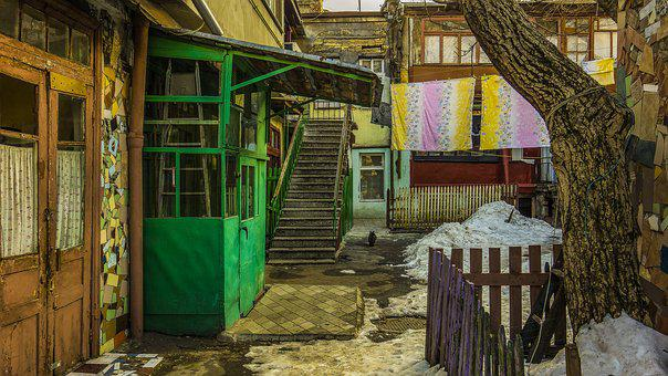 Odessa, Yard, Elimination Of The Film, Snow