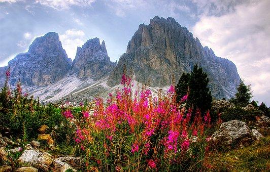 Dolomites, Mountains, Italy, South Tyrol, Alpine