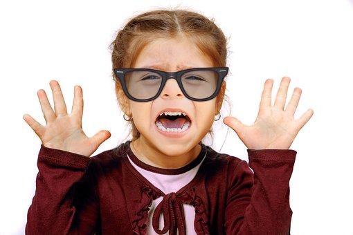 Girl, Glasses, See, Bad, Defense, Eyeglass Frame