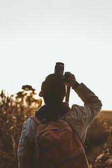 Man, Guy, Camera, Capture, Dslr, Shooting, Photographer