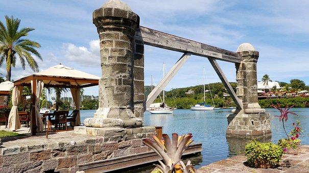 Caribbean, Nelson's Dockyard, Historically, Sea, Old