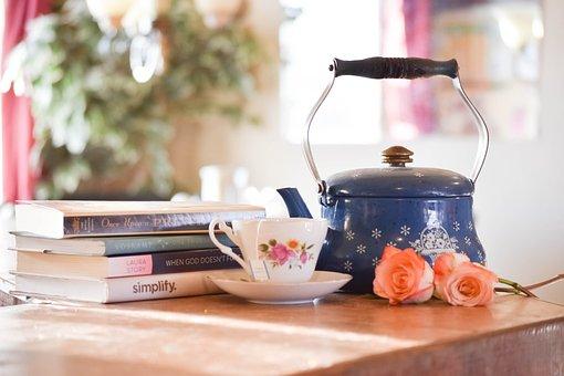 Tea, Still Life, Cup, Teacup, Lifestyle, Home, Vintage
