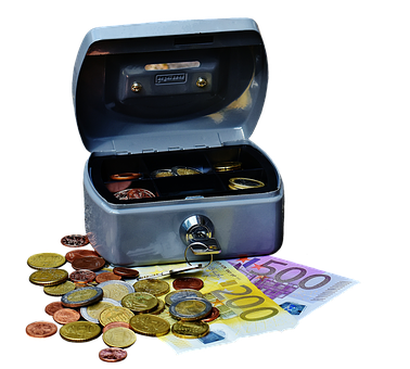 Cashbox, Money, Currency, Cash Box, Finance, Money Box