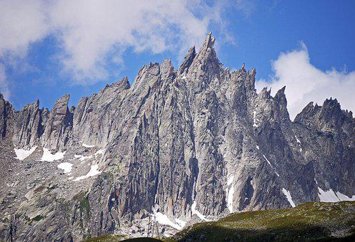 Furkahorn, Jagged, Rugged, Furka Pass