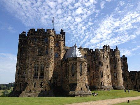 Castle, Great Britain, Harry Potter, England, Landscape