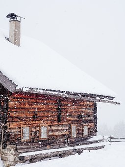 House, Architecture, Snow, Winter, Cold, Weather, Roof