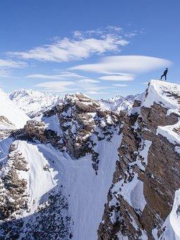 Mountain, Highland, Landscape, Nature, Snow, Winter