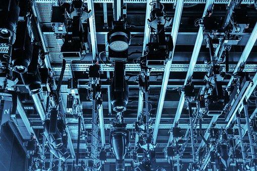 Technology, Advanced, Lights, Ceiling